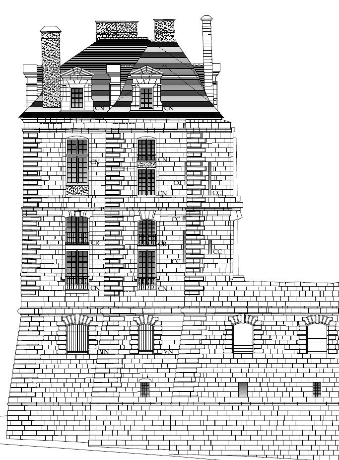 Travaux Château de Quintin