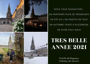 Voeux 2021 Château de Quintin