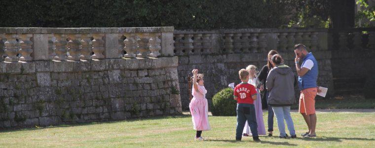 Jeux familles au Château de Quintin