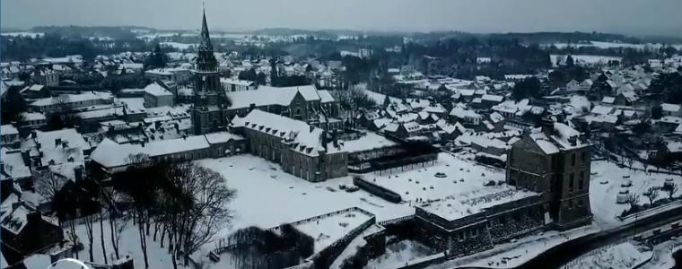 Quintin sous la neige France 2 JT 10/02/2021